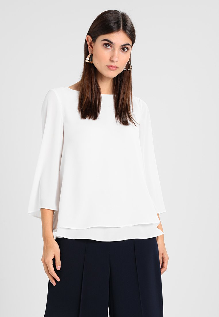 Esprit Collection - SOFT CREPE - Blusa - off white
