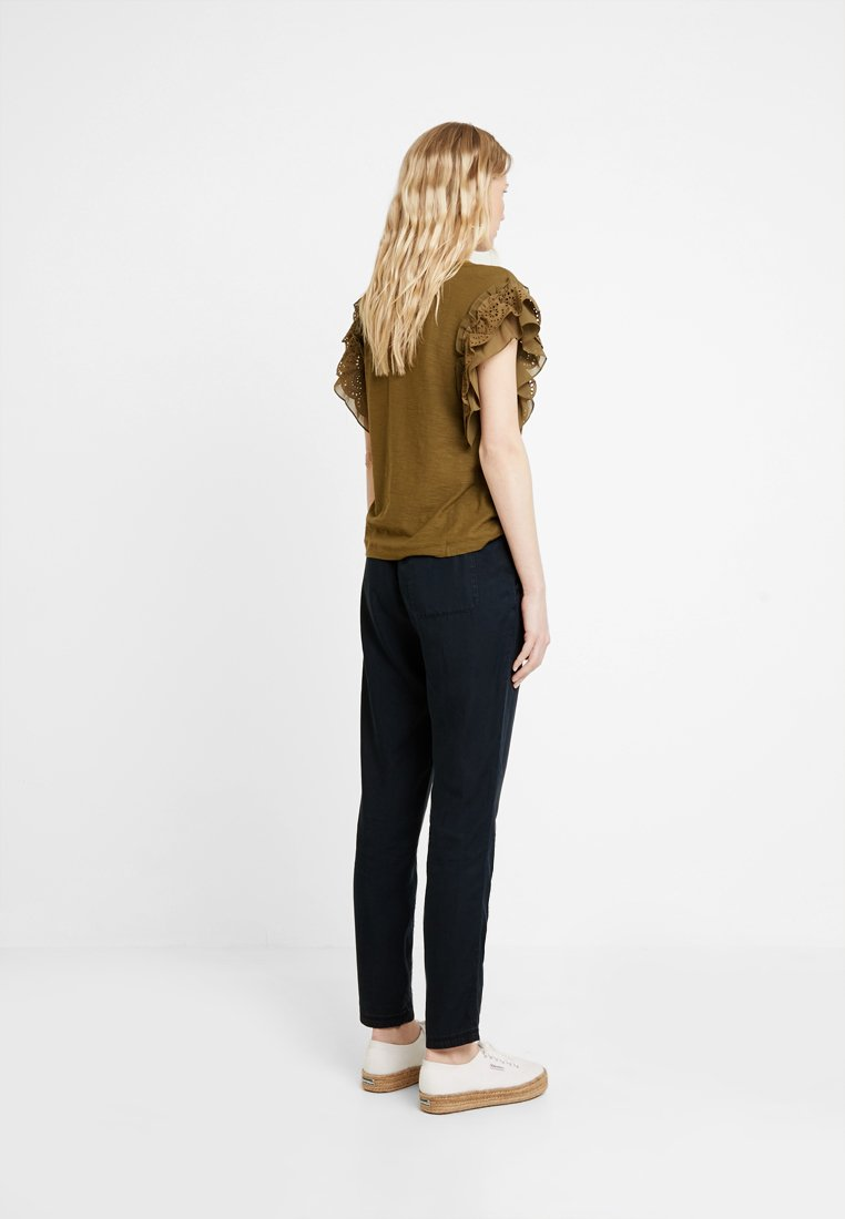 Marc DrawstringJeans Blue Fuselé Pants O'polo blue Denim Style wvN0m8n