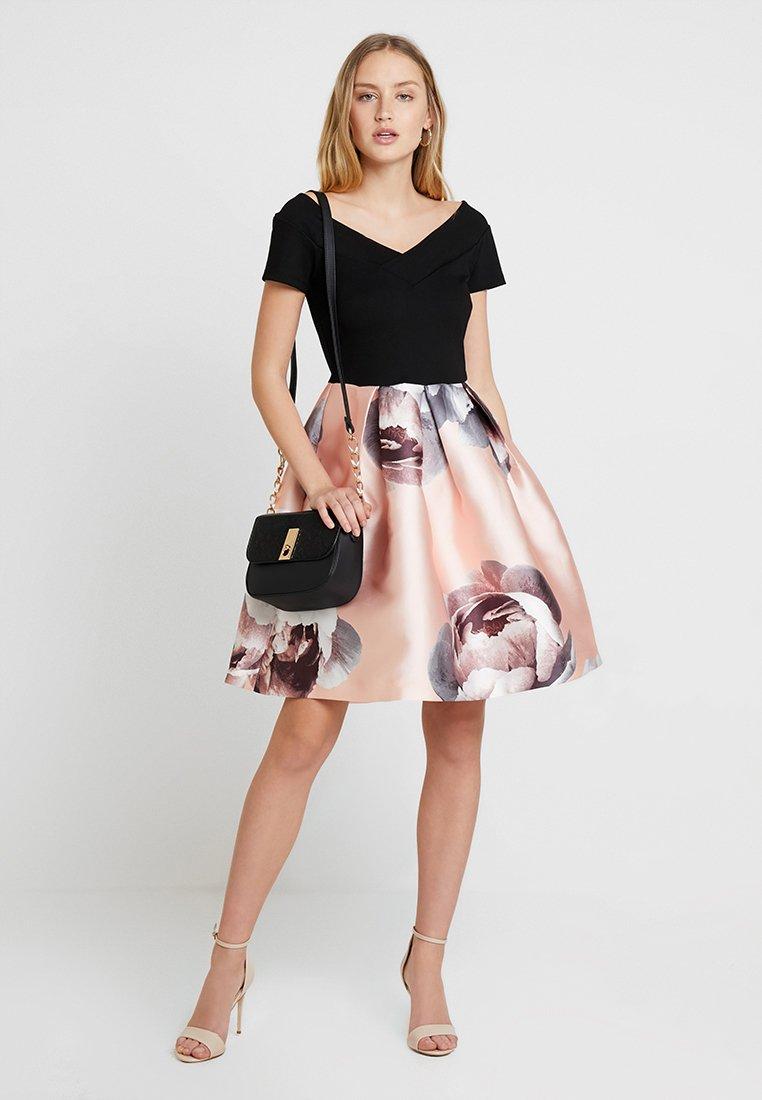 Anna Field - Jersey dress - rose/black