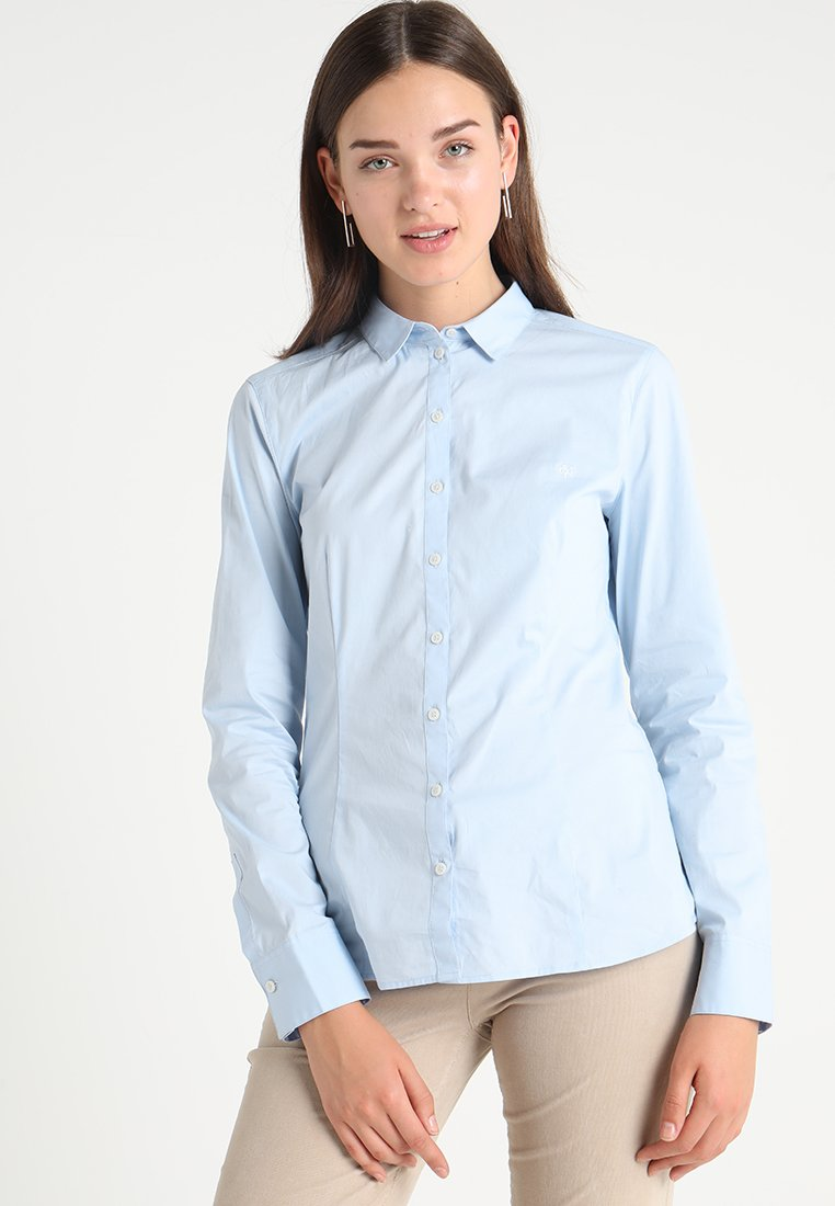 Marc O'Polo - BLOUSE CLASSIC STYLE - Camisa - bluejay
