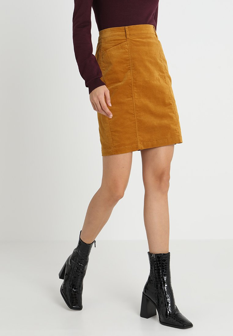More & More - Pencil skirt - honey mustard