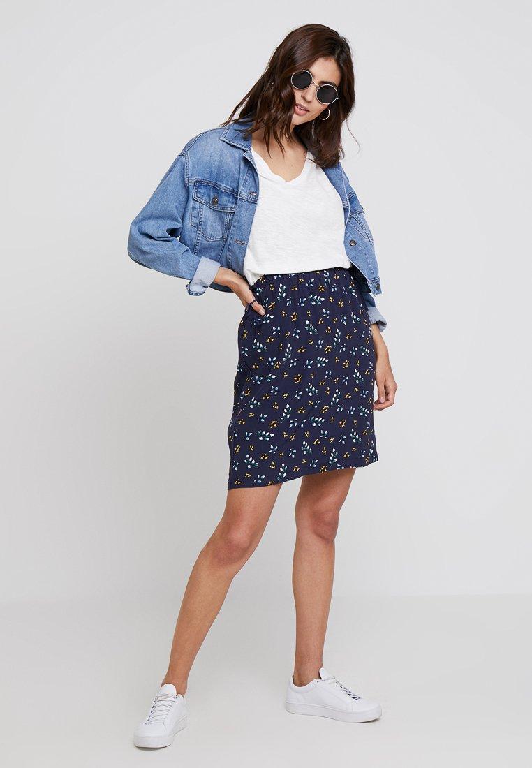 s.Oliver - A-line skirt - dark blue