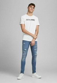 Jack & Jones - LIAM ORIGINAL  - Jeans Skinny Fit - blue denim - 1