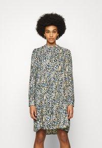 Object - OBJDITSY NELLE DRESS - Shirt dress - blue mirage - 0