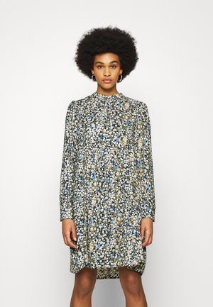 OBJDITSY NELLE DRESS - Shirt dress - blue mirage