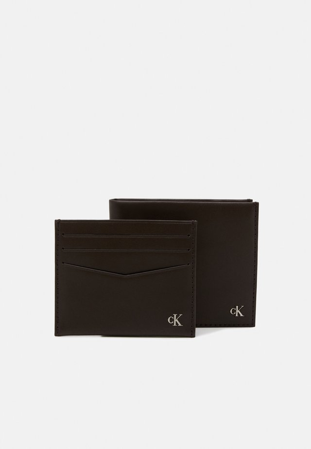 BIFOLD COIN CARDCASE SET - Étui pour cartes de visite - brown