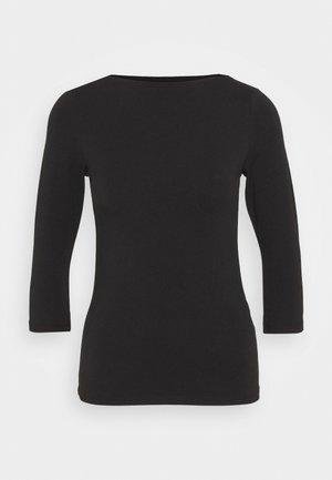 ONLLIVE LOVE BOATNECK - Camiseta de manga larga - black