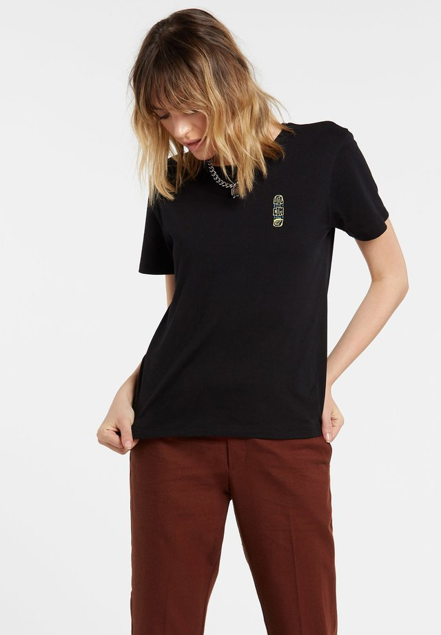 SIMPLY DAZE - T-shirt basic - black