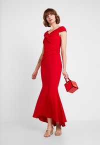 Sista Glam - MARENA - Robe longue - red - 2