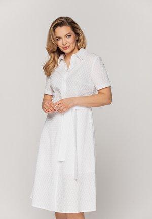 Sukienka koszulowa - biały