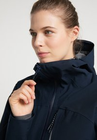 PYUA - Waterproof jacket - navy blue - 3
