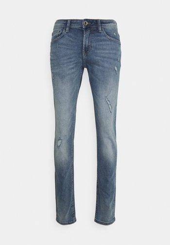 PIERS - Slim fit jeans - bleached blue denim