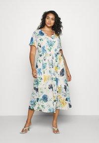 Zizzi - MLAURA MIDI DRESS - Day dress - multi-coloured - 0