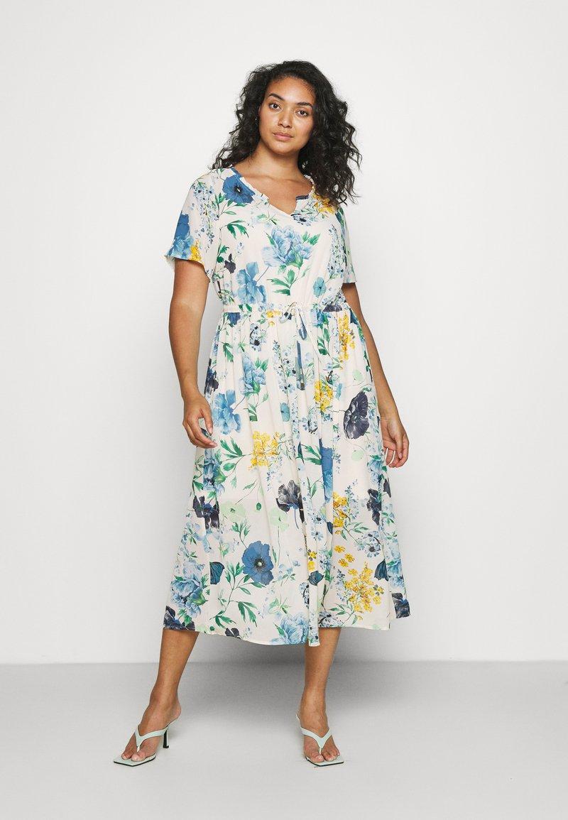 Zizzi - MLAURA MIDI DRESS - Day dress - multi-coloured