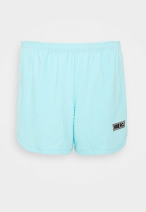SHORT - Sports shorts - glacier ice/dk grey heather/(black)