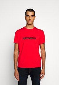Just Cavalli - Print T-shirt - grenadine red - 0