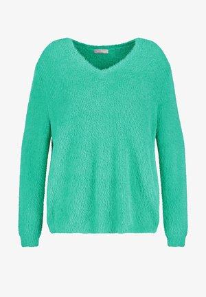 LANGARM - Fleece trui - mint
