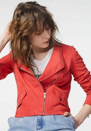 Leather jacket - pastèque