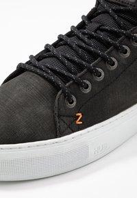 HUB - MURRAYFIELD - Sneakers hoog - black/white - 5