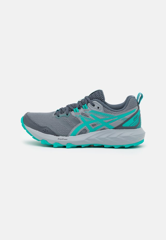 GEL SONOMA 6 - Trail running shoes - carrier grey/baltic jewel