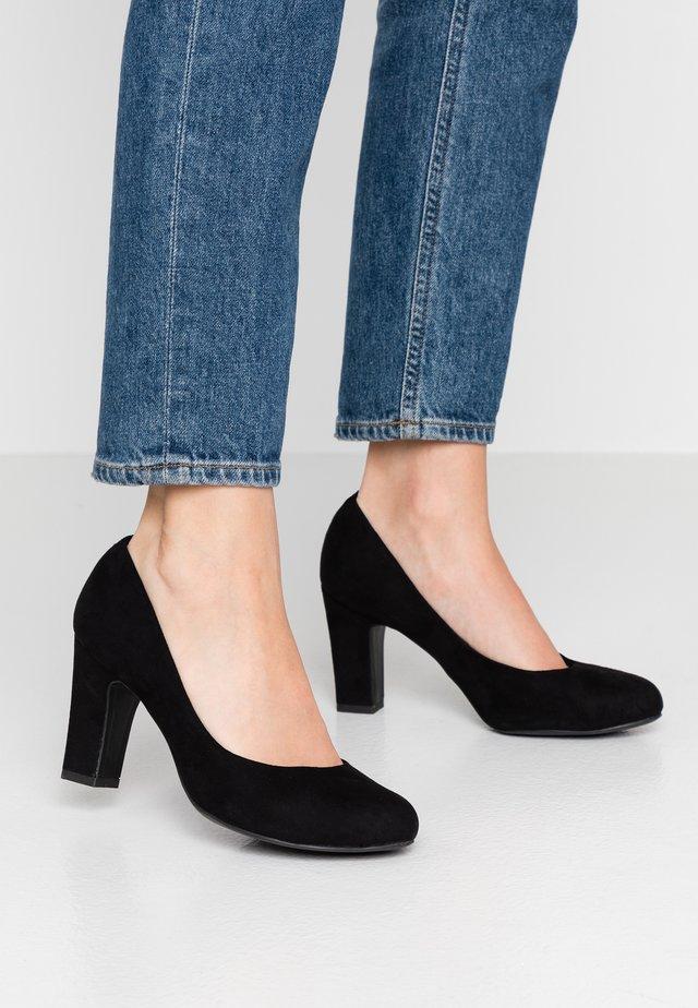 WIDE FIT RITA - Classic heels - black