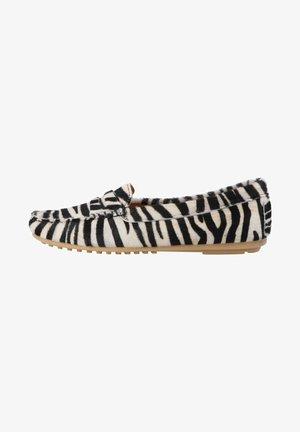 Slip-ons - zebra black