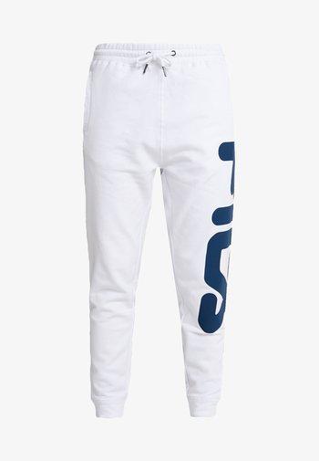 PURE BASIC PANTS - Pantalones deportivos - bright white