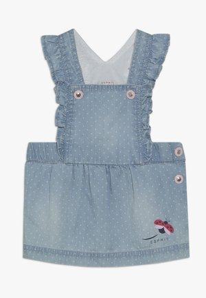 BIB SKIRT BABY - Day dress - light indigo denim