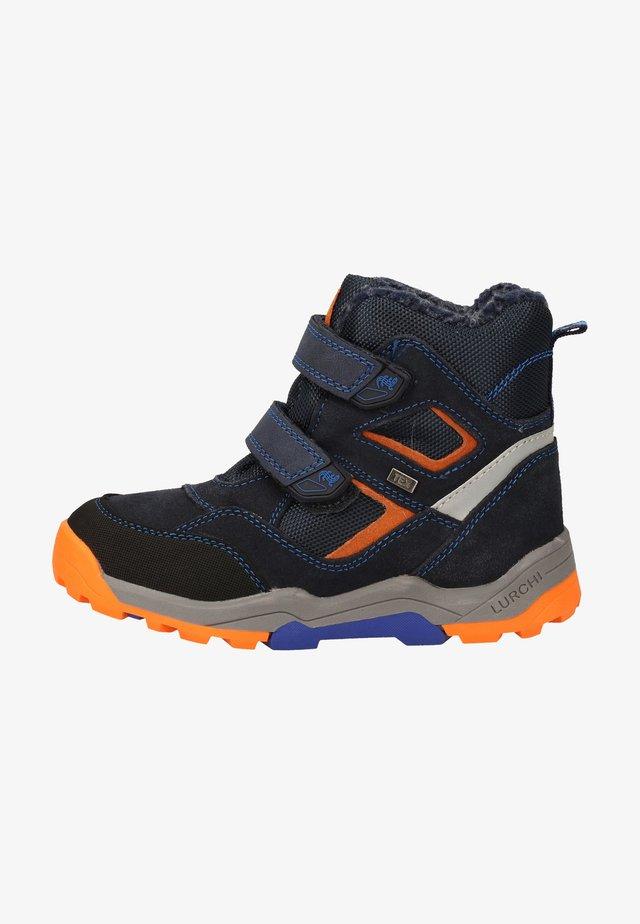 Winter boots - cobalt orange 49