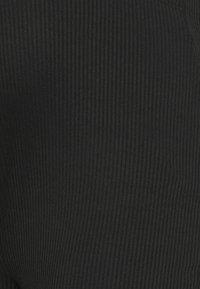 Missguided Maternity - SPLIT SIDE FLARES - Leggings - Trousers - black - 5