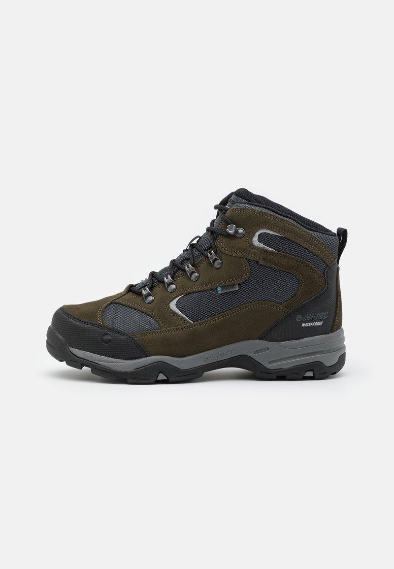 Hi-Tec - STORM WP - Zapatillas de senderismo - olive night/black/charcoal