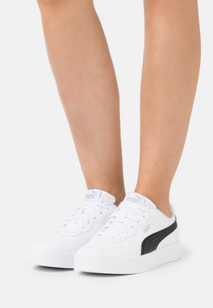 SKYE CLEAN - Trainers - white/black