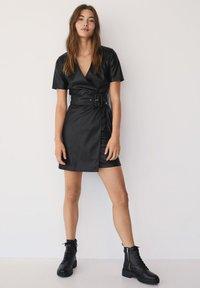 Mango - Day dress - černá - 1