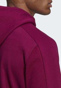 adidas Performance - MUST HAVES FULL-ZIP STADIUM HOODIE - Zip-up hoodie - purple - 5