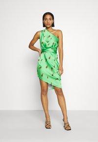Never Fully Dressed - SUMMER RAINBOW JASPRE - Wrap skirt - green - 3