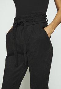 Vero Moda - VMEVA PANT - Trousers - black - 3
