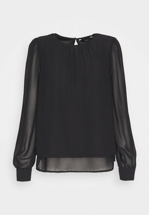 VMIRIS DOUBLE LAYER - Blouse - black