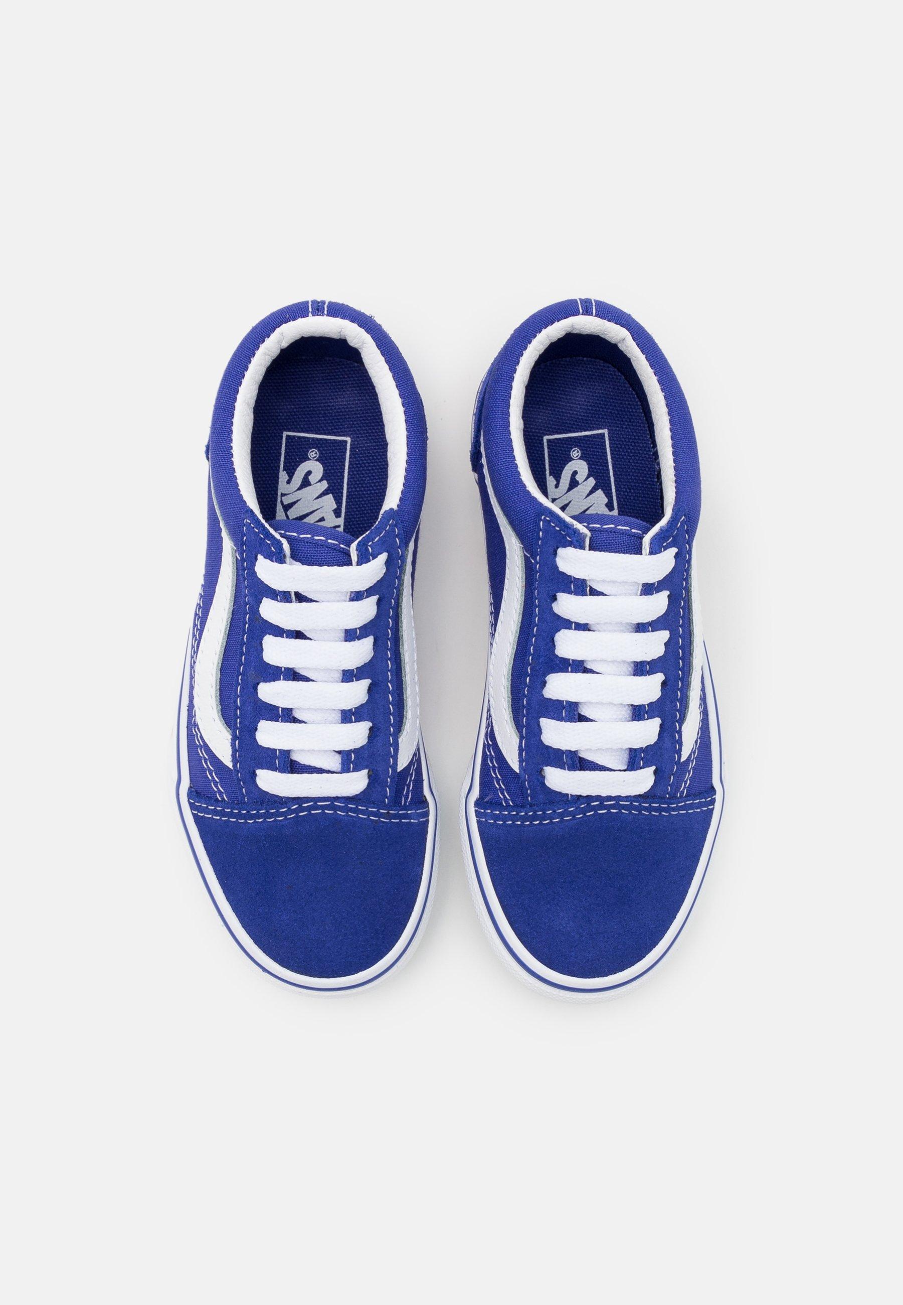 Vans OLD SKOOL UNISEX - Baskets basses - royal blue/true white ...