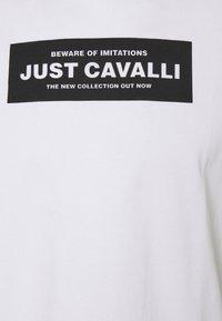 Just Cavalli - Triko spotiskem - optical white - 6