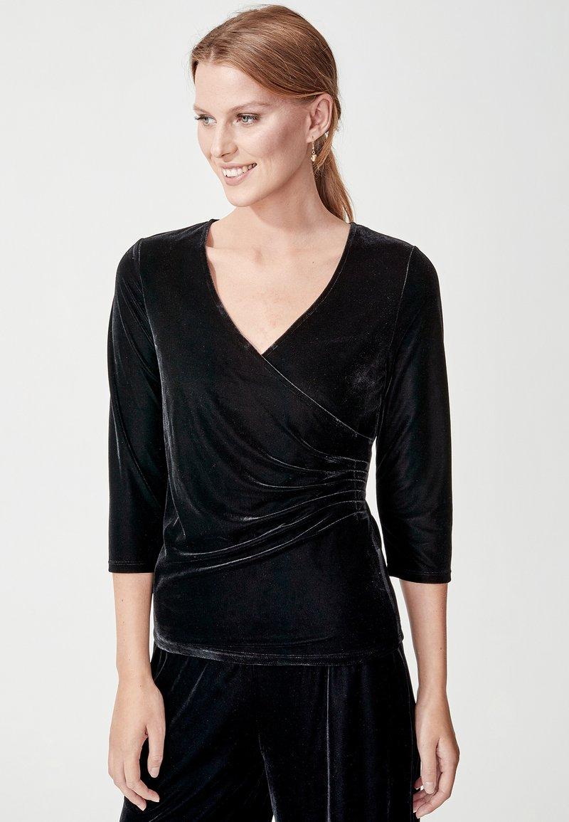 Indiska - MONTROSE - Långärmad tröja - black