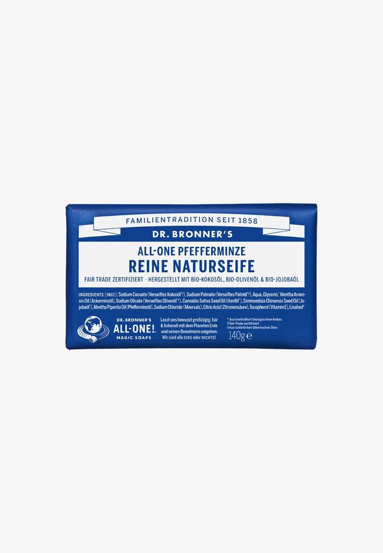 Dr. Bronner´s - PURE NATURAL SOAP 140G - Soap bar - pfefferminze