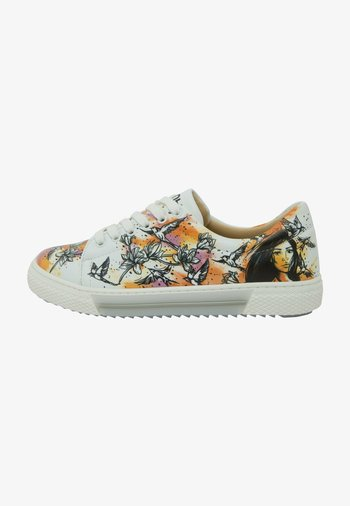 THE GIRL AND THE BIRDS - Sneakers basse - multicolor