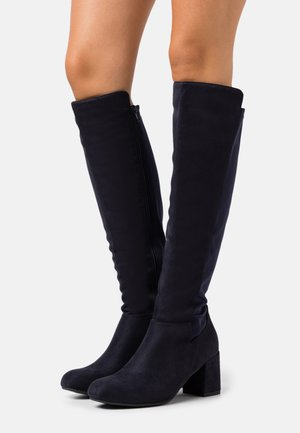 WIDE FIT WEDNESDAY - Bottes - navy