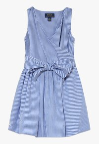 Polo Ralph Lauren - WRAP DRESS - Day dress - blue - 0