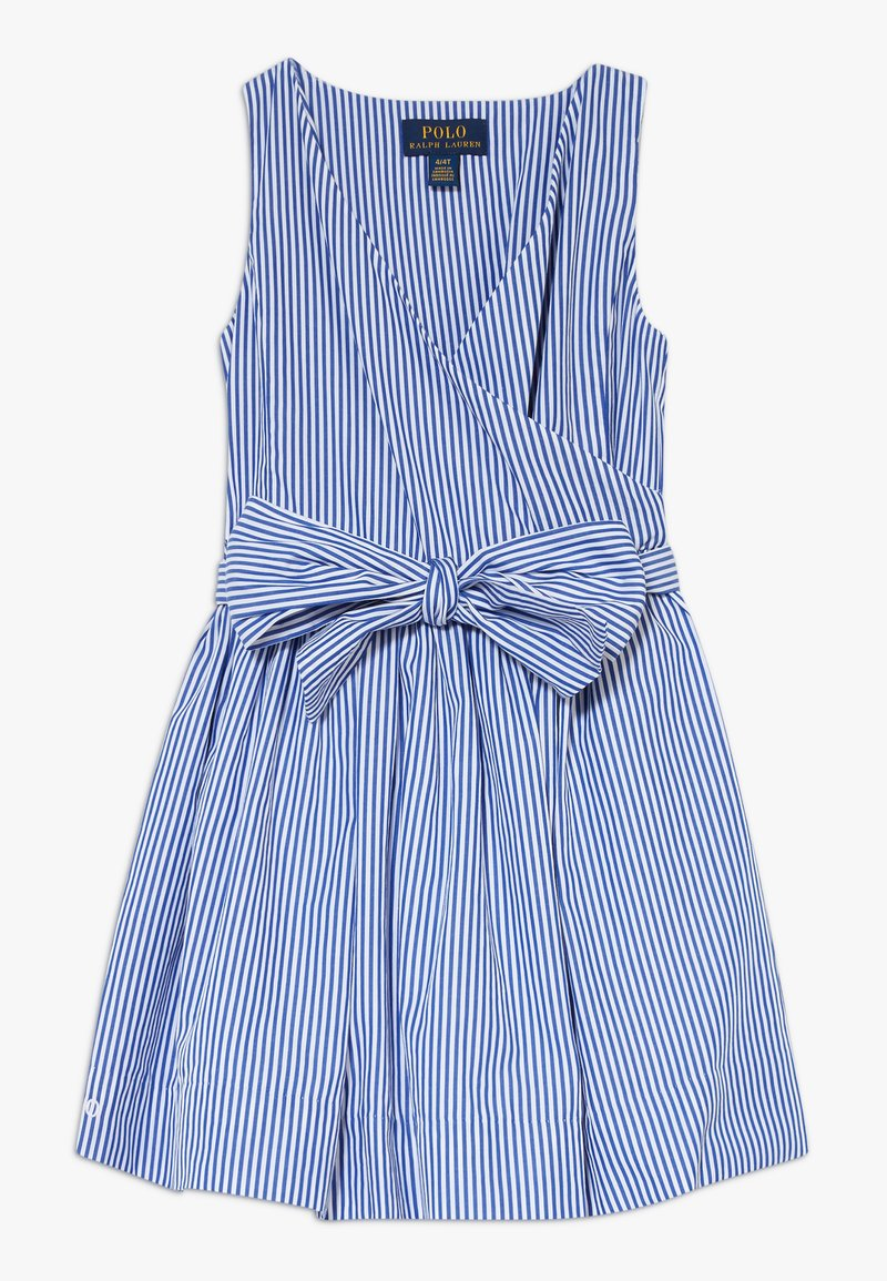 Polo Ralph Lauren - WRAP DRESS - Day dress - blue