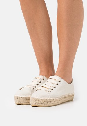 BASKET  - Casual lace-ups - nature