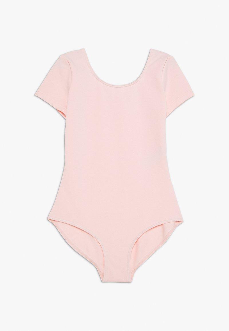 Bloch - SHORT SLEEVE LEOTARD BALLET - Danspakje - light pink