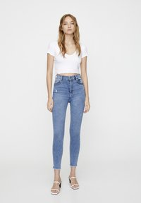 PULL&BEAR - Jeans Skinny Fit - blue - 1