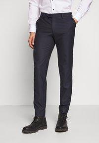 Bertoni - BLOCH TROUSER - Trousers - dark blue - 0