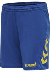 Hummel - DUO SET - Sports shorts - sports yellow/true blue - 4